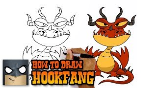 How to Draw Hookfang | How to Train Your Dragon (Drawing Tutorial)