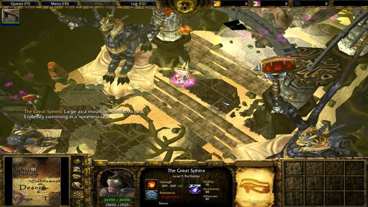 Seth's Reign Trailer (Warcraft 3)
