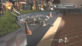 """Game Fails: Modern Warfare 2 """"How to check if someone is pretending to be dead"""""""