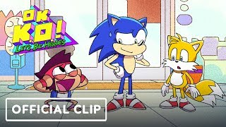 """OK KO! Let's Be Heroes: """"Let's Meet Sonic"""" Official Clip - Comic Con 2019"""