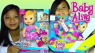 Baby Alive Baby Doll: Gets a Boo-Boo and Baby Alive Tickles n Cuddles - Kids