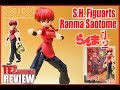 Review Ranma 1/2 S.H. Figuarts Ranma Saotome (Fille)