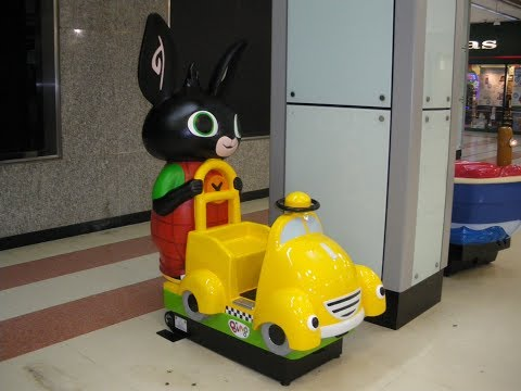 2010s Coin Operated Taxi Kiddie Ride  Bing Bunny