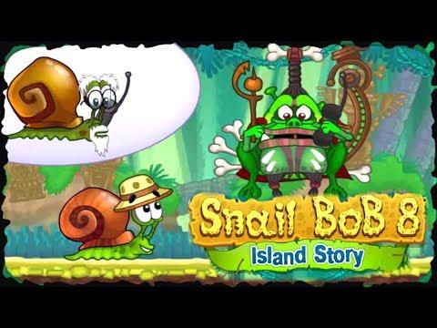 Snail Bob 8 Island Story Full Game Walkthrough All Levels