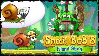 Snail Bob 8 Island Story Full Game Walkthrough All Levels