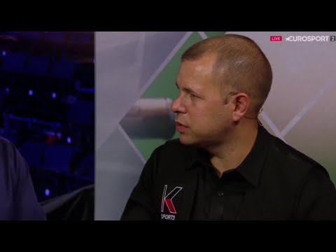 Barry Hawkins FULL POST MATCH INTERVIEW Round 1Masters Snooker 2019 HD 1080P 60FPS