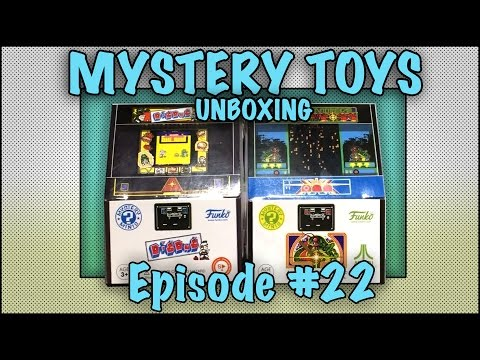 Thumbnail: MYSTERY TOYS! Episode #22 - Unboxing Retro Video Games #Funko Mystery Minis