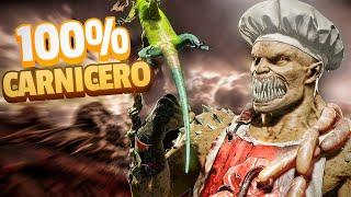 🥩NADIE VENCE al CARNICERO || 100% DAÑO - 0% DERROTAS - Mortal Kombat 11
