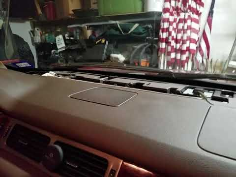 2007-2014 GM Chevrolet Tahoe Dashboard Noise