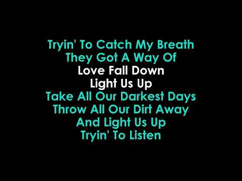 Light Us Up Karaoke Matrix & Futurebound & Calum Scott