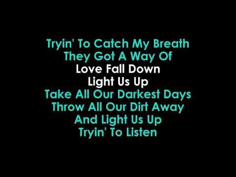 Light Us Up Karaoke Matrix & Futurebound & Calum Scott