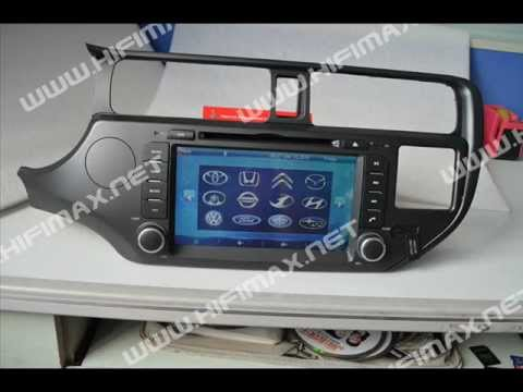 8 2 din car dvd gps navigation system for kia rio eu version with bluetooth ipod pip subwoofer. Black Bedroom Furniture Sets. Home Design Ideas