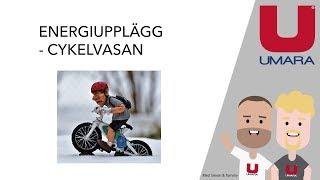 Energiupplägg för cykelvasan 2018