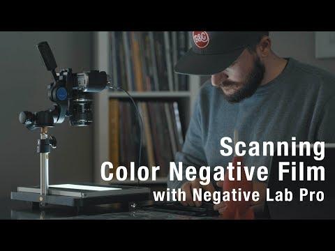 Scanning Color Negative Film // Negative Lab Pro