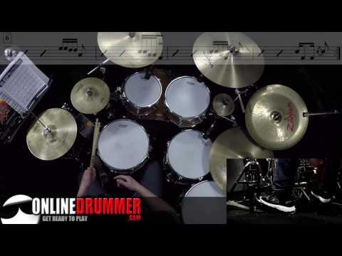 Hi Hat Ostinato Over 7/8 - Drum Lesson