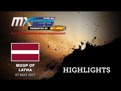 EMX125 Round of Latvia, Kegums 2017_Race 1 Highlights