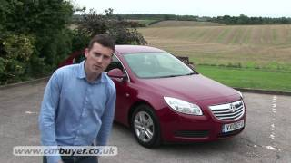 Vauxhall Insignia hatchback (2009-2013) review - CarBuyer