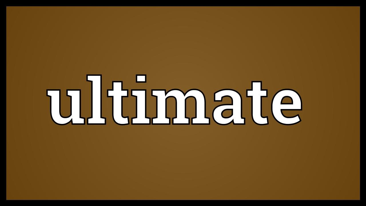 Ultimatums meaning in hindi