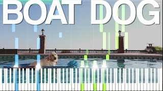 Boat Dog - Markiplier Song [Synthesia Piano Tutorial]