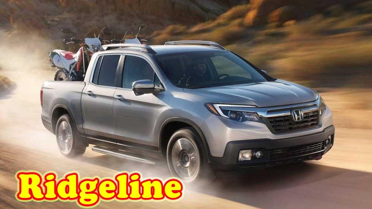 2021 Honda Ridgeline Pickup Truck Interior