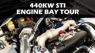 440KW STi - Engine Bay Tour