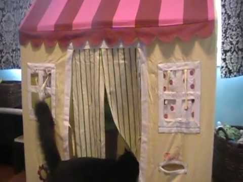 Playing With The Land Of Nod Playhouse Cottage Youtube