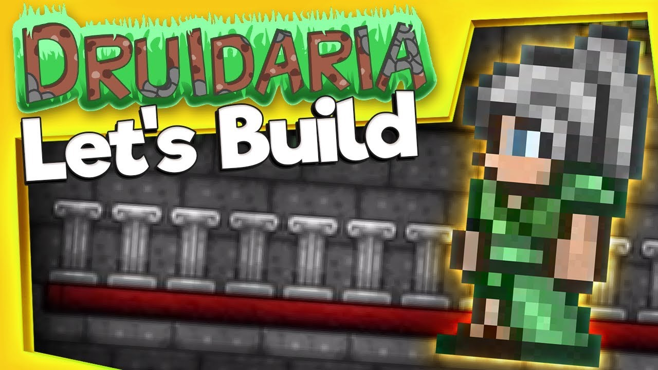 Terraria - Let's Build a Cathedral! — YOGSCAST Sjin — Let ...