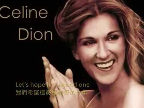 Merry Christmas And Happy New Year Celine Dion Youtube