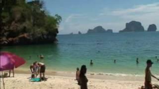 Rock Climbing @ Railay Beach, Krabi / Thailand