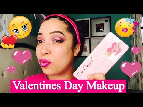 Valentines Day Makeup & Chit Chat/ My Husband Scares The Shit Out Of Me!!!!