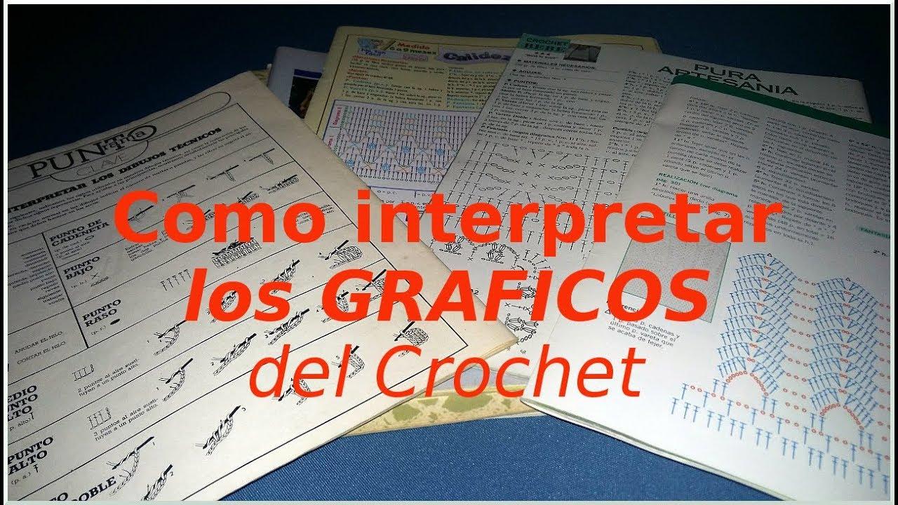 Curso crochet o ganchillo: Como leer los patrones! tutorial paso a ...