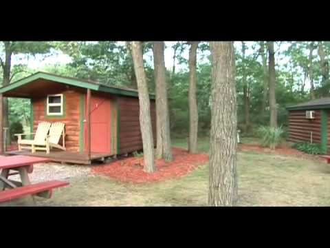 Bass Lake Campground In The Wisconsin Dells Youtube