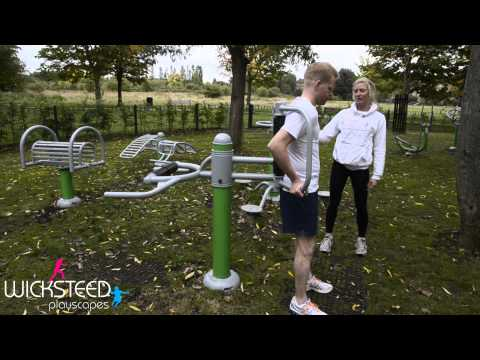 Roller Back Massager - Outdoor Gym Equipment