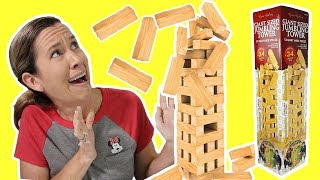 Giant Size Tumbling Tower Game
