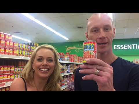 Lucy and Kel's take on a Philippine supermarket