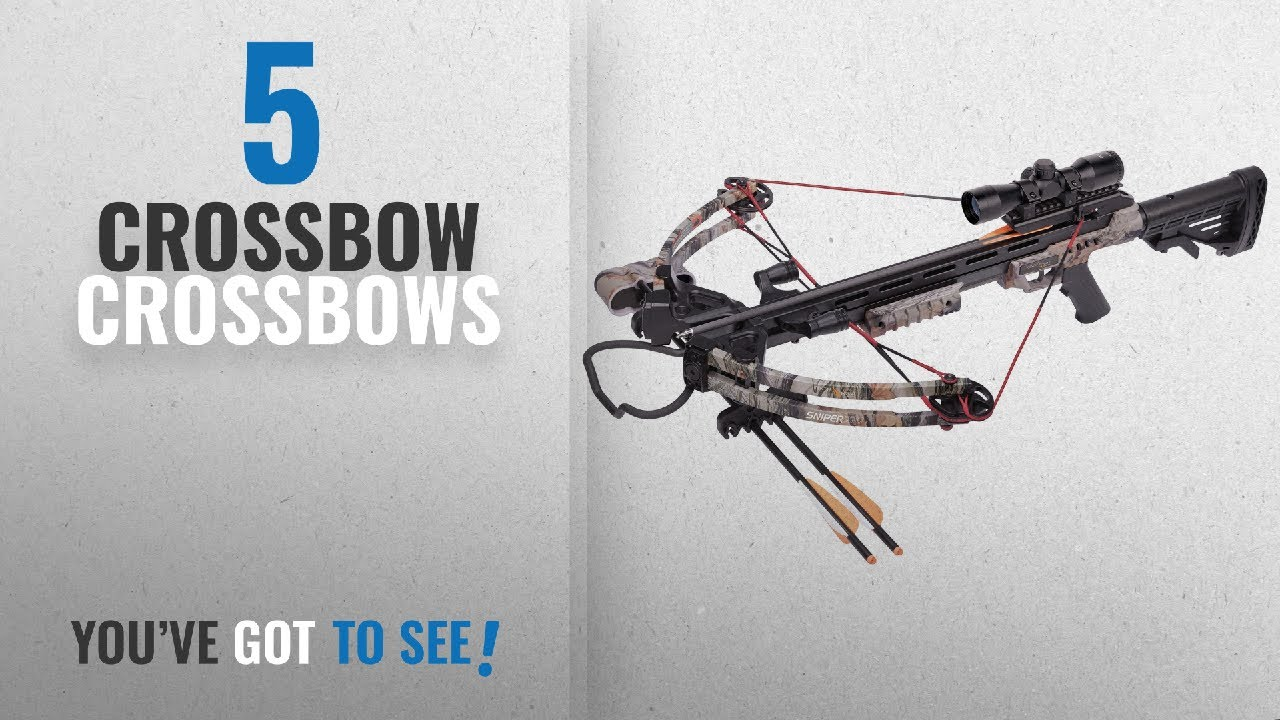 Top 10 Crossbows Crossbow [2018]: CenterPoint Sniper 370 ...