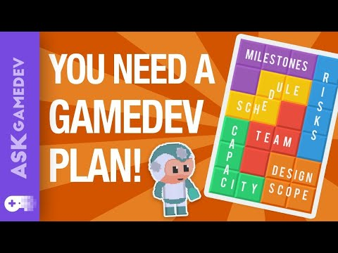 How To Plan Your Game Development Project