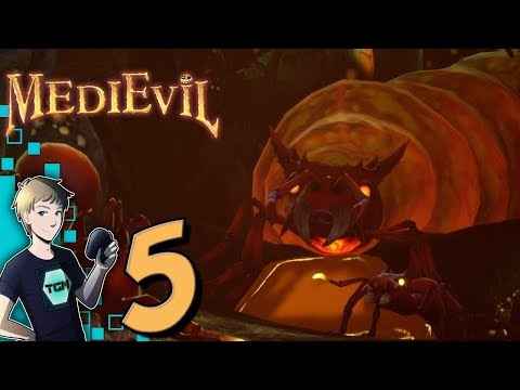 MediEvil PS4 Remake Walkthrough - Part 5: The Ant Caves