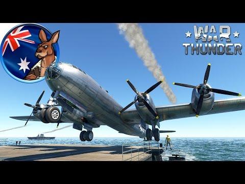 War Thunder: Carrier Landing Porn (For G.I. Haigs)