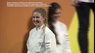 SwissSkills 2018 Siegerehrung Fachrichtung Bäckerei-Konditorei