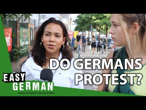 Do Germans like to protest? | Easy German 308 - YouTube