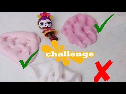 Çöplük Slime Challenge Tutkalsız Yüz Maskesi ile Hangisi Fail Olur Çöplük Slime Bidünya Oyuncak