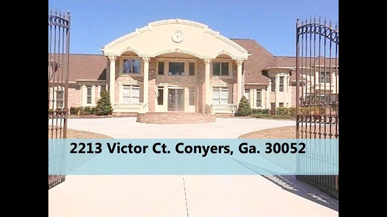 Conyers Ga Homes For Sale Youtube