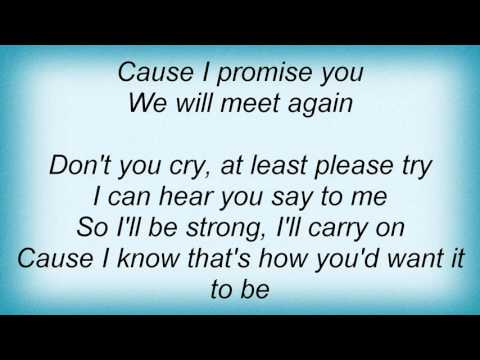 15978 Oleta Adams - We Will Meet Again Lyrics