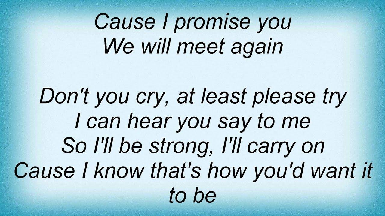 until we will meet again oleta