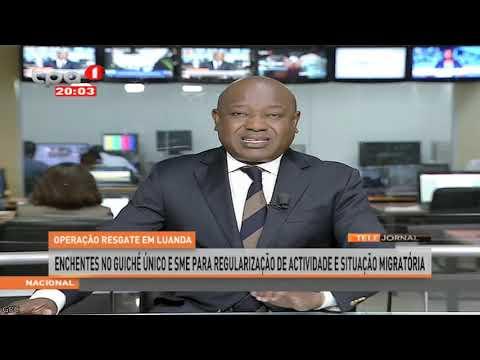 """Operação Resgate em Luanda """"Enchentes no Guiché Único e SME"""""""