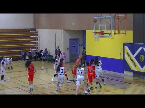 Newark Junior High School Girls Eighth Grade Basketball