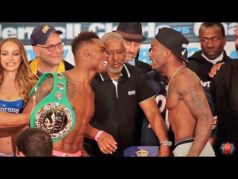 BOTH SIDES GO AT IT! HEATED Jermell Charlo vs. Charles Hatley Full Weigh in & Face Off Video