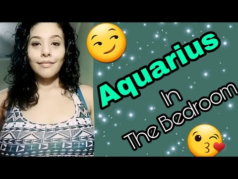 Aquarius women in bed ass naked