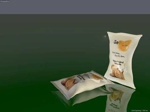 3D Modelling Gegares Packaging